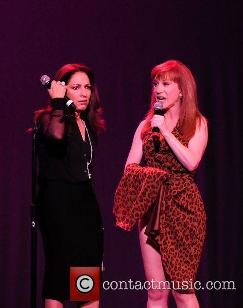 Gloria Estefan and Kathy Griffin 6