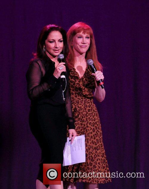 Gloria Estefan and Kathy Griffin 9