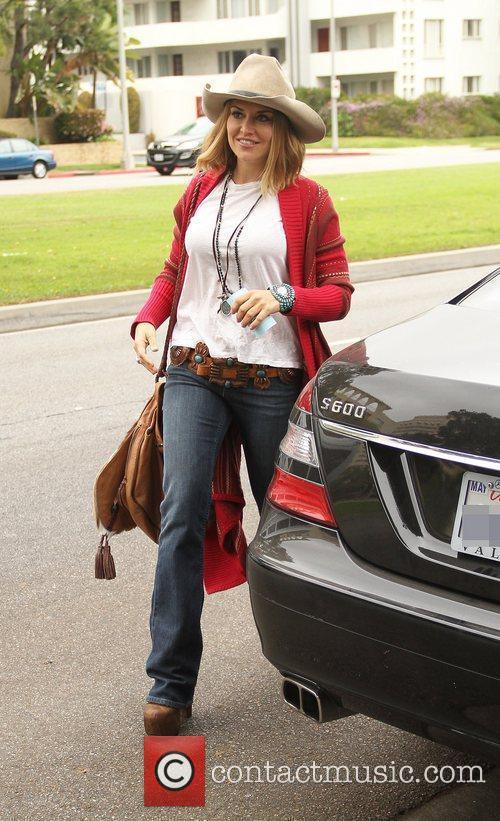 Brooke Mueller  Celebrities arrive at the Birthday...