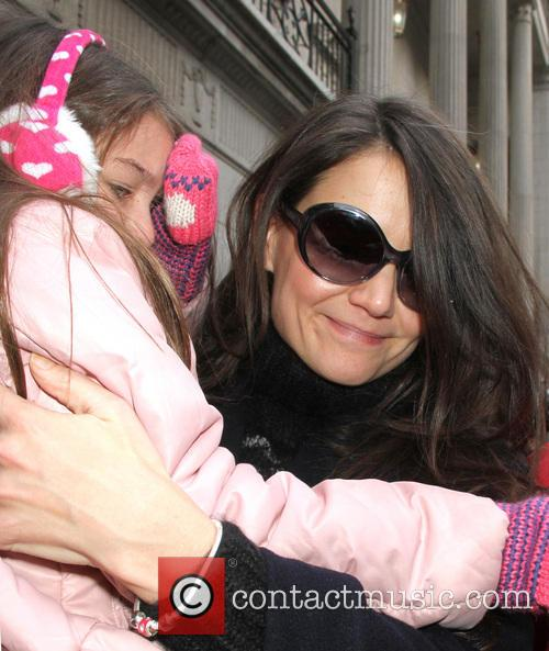 Katie Holmes, Suri Cruise, Music Box, New York City, Broadway and Dead Accounts 4