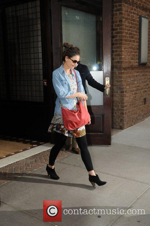 Katie Holmes and Manhattan Hotel 1