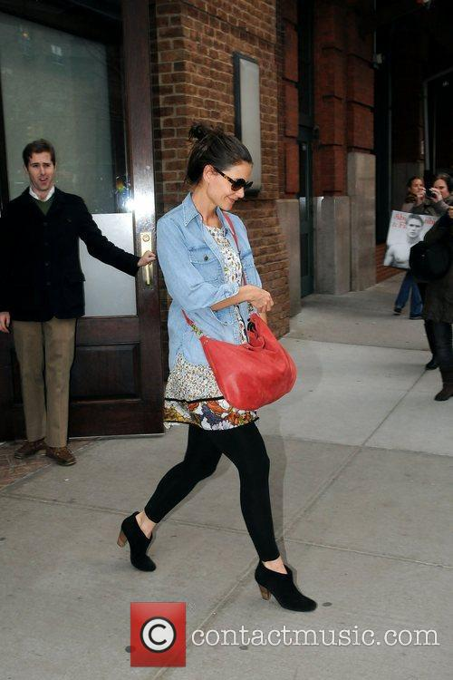 Katie Holmes and Manhattan Hotel 9