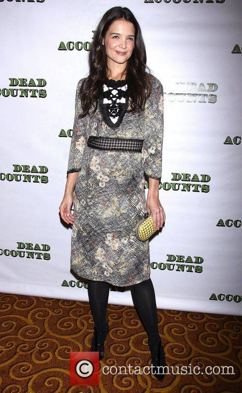 Katie Holmes, Bottega Veneta, Dead Accounts, Gotham Hall. New York, City