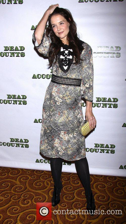 Katie Holmes, Bottega Veneta, Dead Accounts, Gotham Hall. New York and City 9