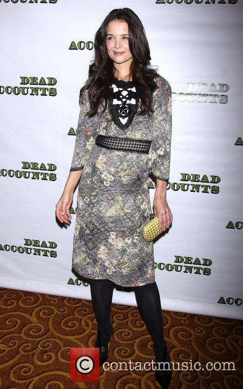 Katie Holmes, Bottega Veneta, Dead Accounts, Gotham Hall. New York and City 5