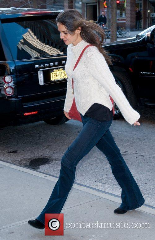 Arriving at back at her Manhattan hotel after...