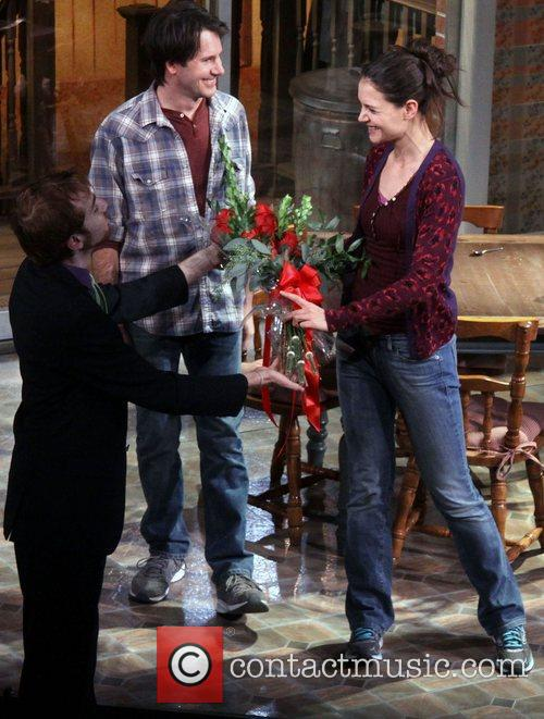 Josh Hamilton, Katie Holmes, Dead Accounts, Music Box Theatre. New and York City 6