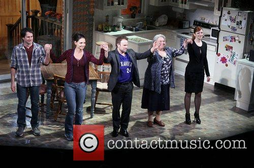 Josh Hamilton, Katie Holmes, Norbert Leo Butz, Jayne Houdyshell, Judy Greer, Dead Accounts, Music Box Theatre. New and York City 8
