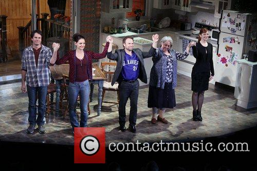Josh Hamilton, Katie Holmes, Norbert Leo Butz, Jayne Houdyshell, Judy Greer, Dead Accounts, Music Box Theatre. New and York City 7