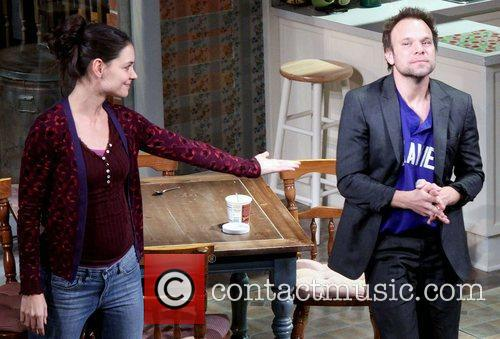 Katie Holmes, Norbert Leo Butz, Dead Accounts, Music Box Theatre. New and York City 2