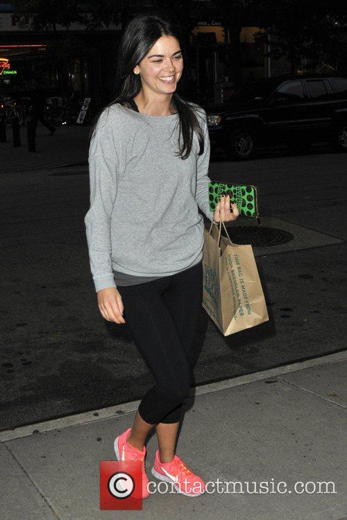 katie lee seen out and about in 5942498