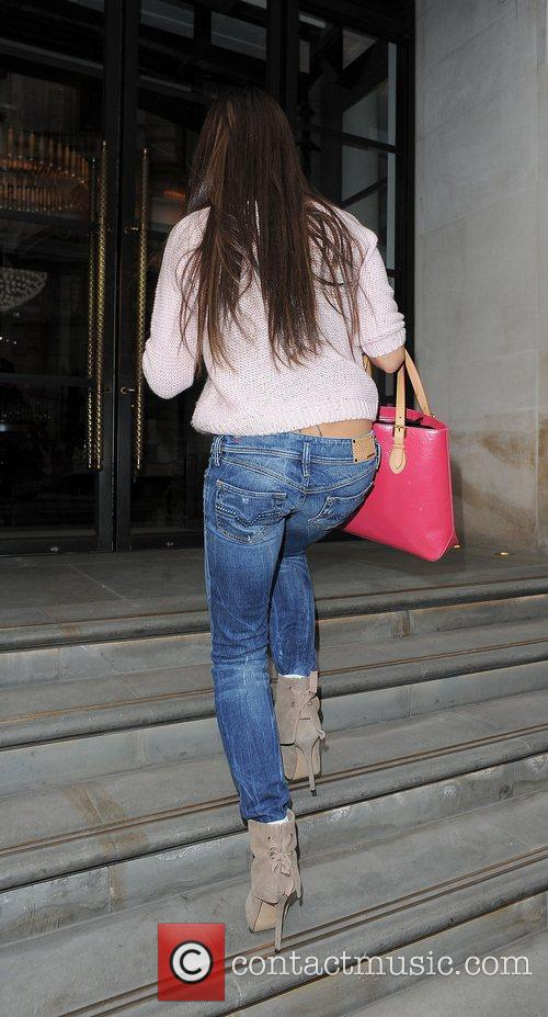 Arriving at a hotel in central London