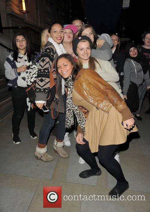 X Factor contestant Jade Ellis arriving back at...