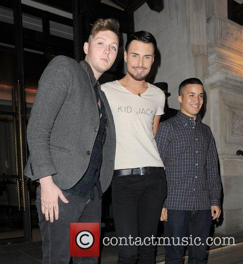 X Factor contestants James Arthur, Rylan Clark and...