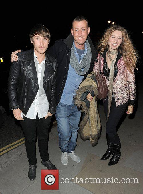 X Factor contestants Kye Sones, Craig Maloney and...