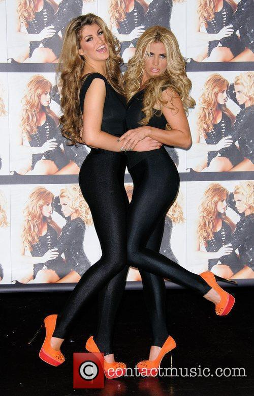 Amy Willerton and Katie Price Katie Price officially...