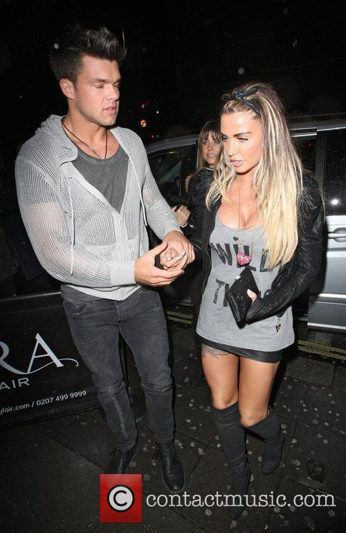 Katie Price and Aura Nightclub 5
