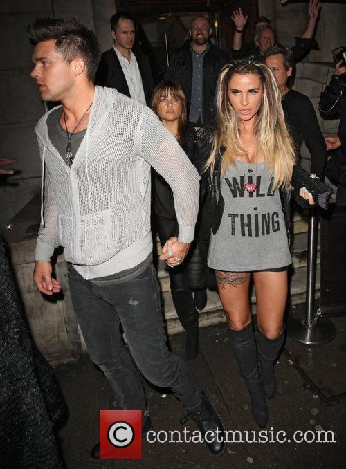 Katie Price and Aura Nightclub 12