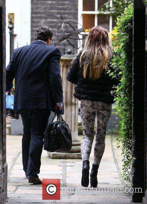 Katie Price and Dorchester Hotel 2