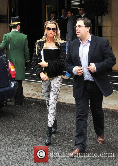 Katie Price and Dorchester Hotel 7