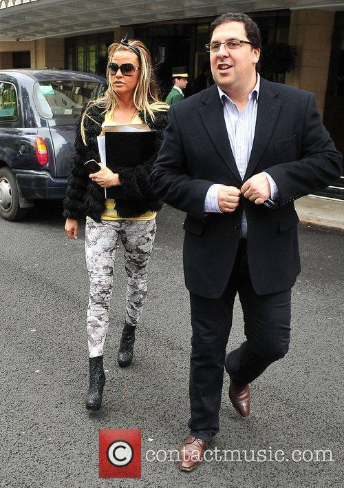 Katie Price and Dorchester Hotel 9