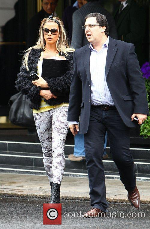 Katie Price and Dorchester Hotel 12
