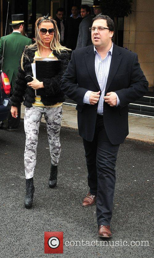 Katie Price and Dorchester Hotel 17
