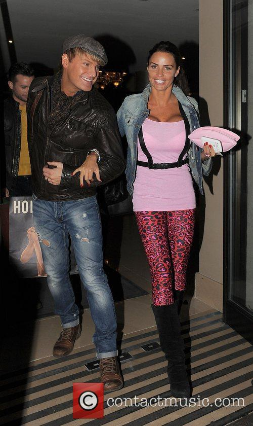 Katie Price, May Fair and Gary Cockerill 2