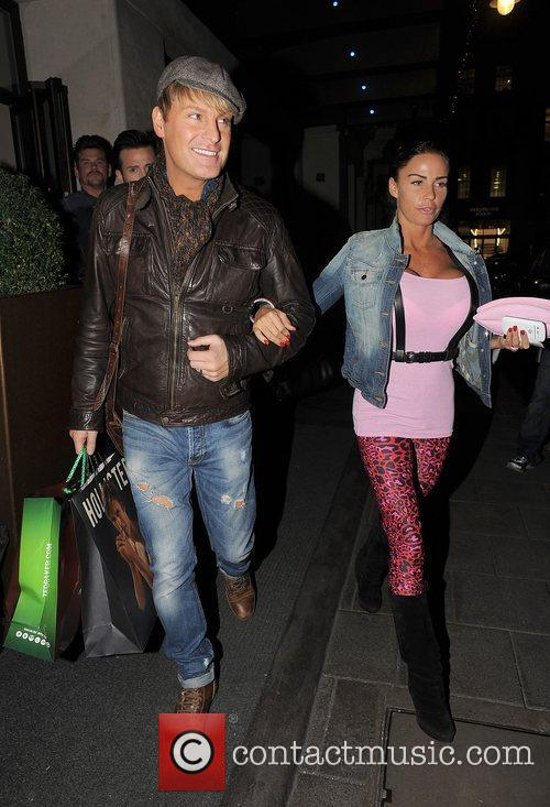 Katie Price, May Fair and Gary Cockerill 9