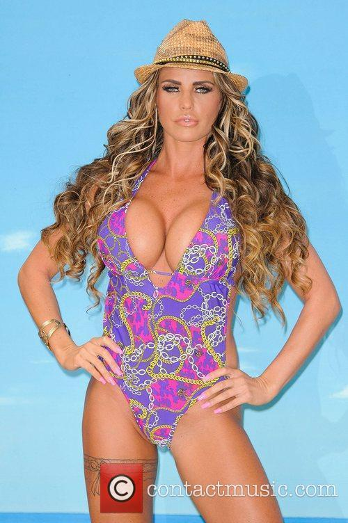 Katie Price launches her new swimwear range for...