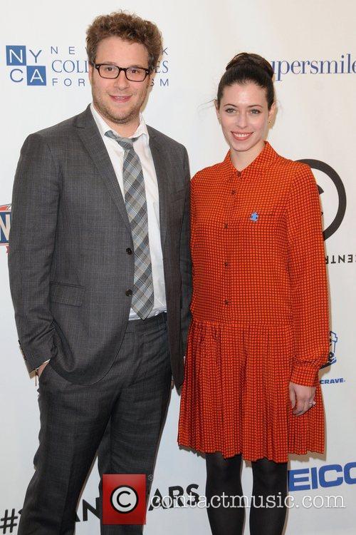 Seth Rogan and Lauren Miller 1