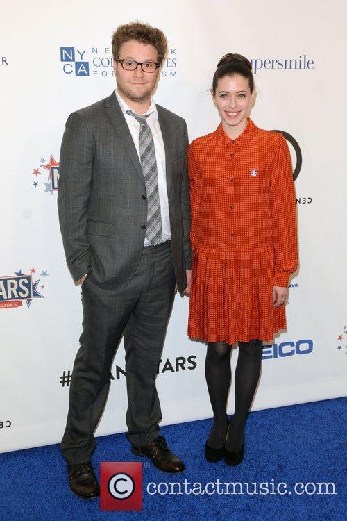 Seth Rogan and Lauren Miller 2