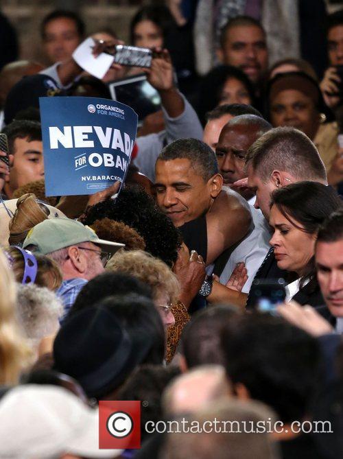 US President Barack Obama  at the 'America...