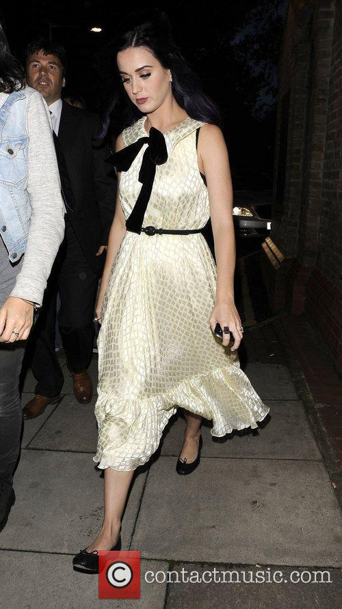 Katy Perry leaves Market Cafe in Hackney London,...