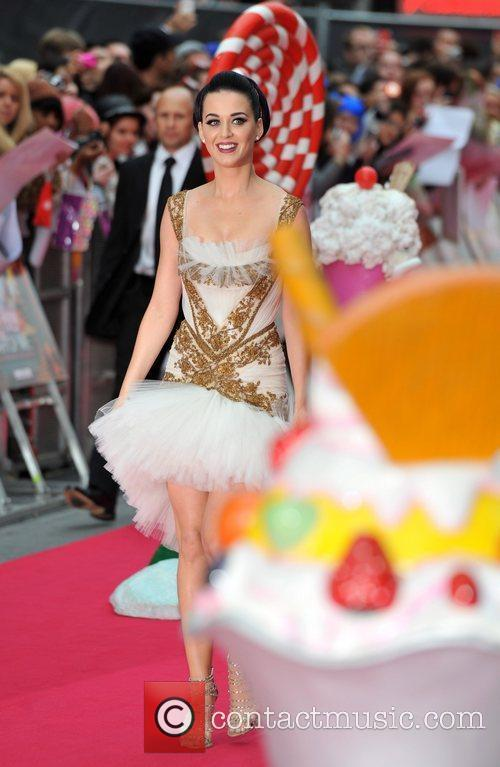 Katy Perry and Empire Leicester Square 2