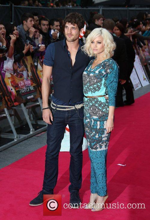 Kimberly Wyatt and Max Rogers UK premiere of...