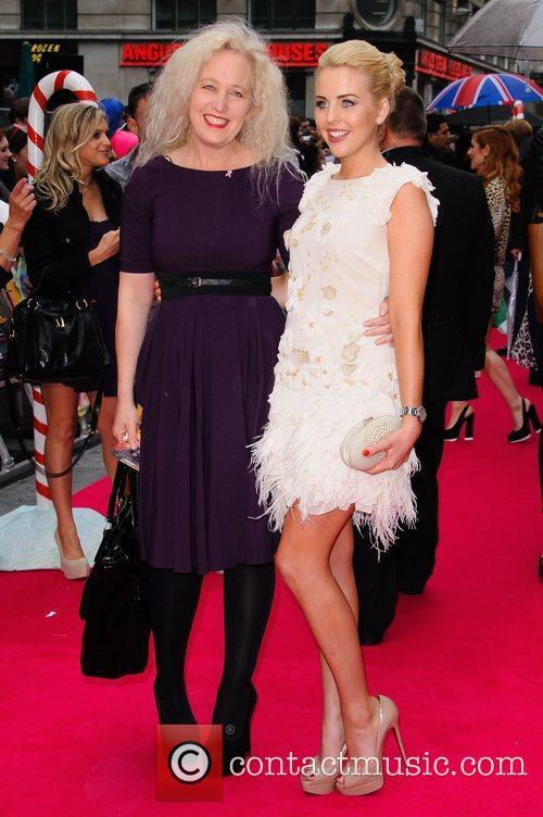 Debbie Bright and Lydia Rose Bright UK premiere...