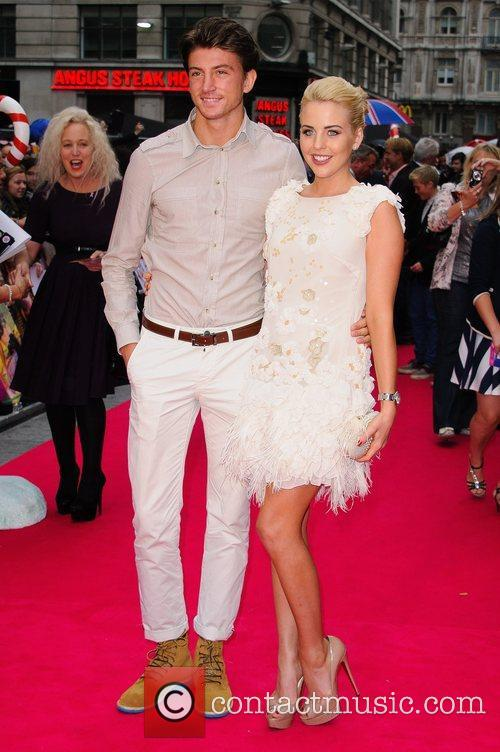 Tom Kilbey and Lydia Rose Bright UK premiere...