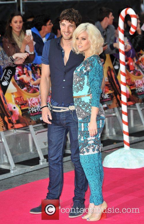Kimberley Wyatt and Guest UK premiere of Katy...