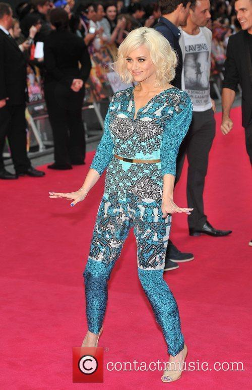 Kimberley Wyatt UK premiere of Katy Perry Part...
