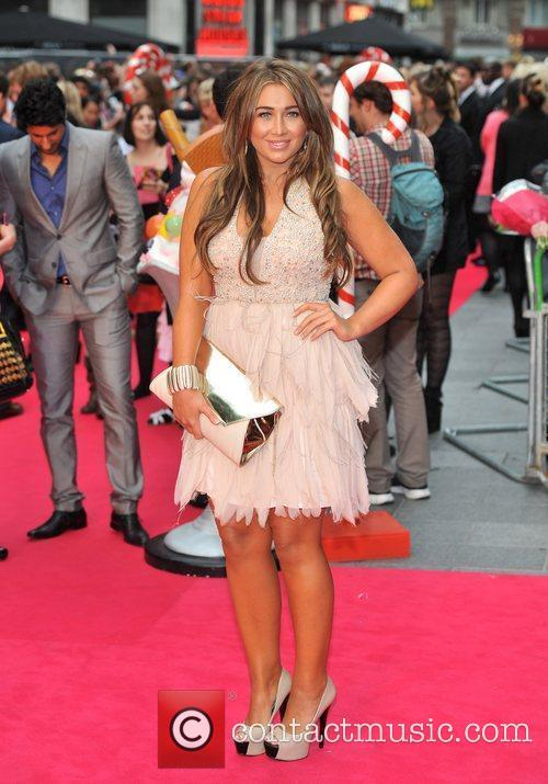 Lauren Goodger and Empire Leicester Square 2