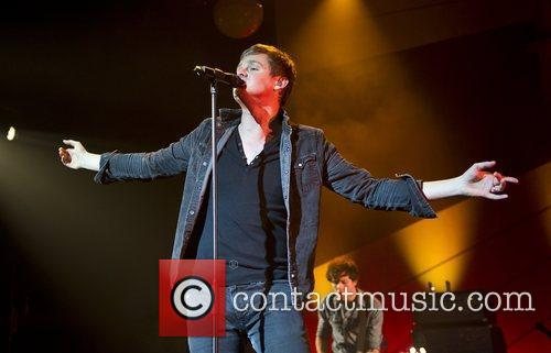 Tom Chaplin Keane perform live at Brixton Academy...