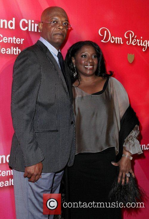 Samuel L Jackson and LaTanya Richardson Keep Memory...