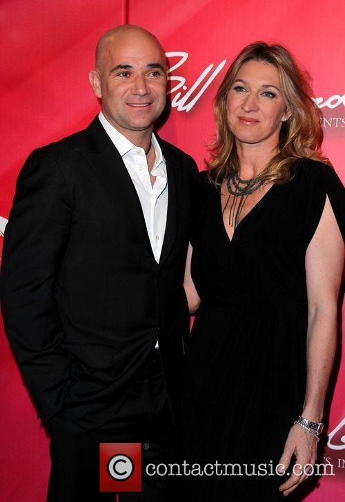 Andre Agassi and Stefanie Graf 'Keep Memory Alive'...