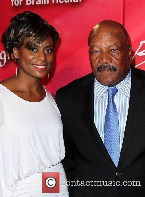 Jim Brown and guest 'Keep Memory Alive' Gala...