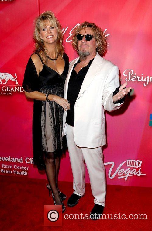 Sammy Hagar and guest 'Keep Memory Alive' Gala...