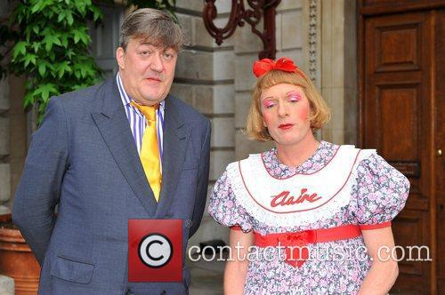 Stephen Fry and Grayson Perry The Royal Academy...