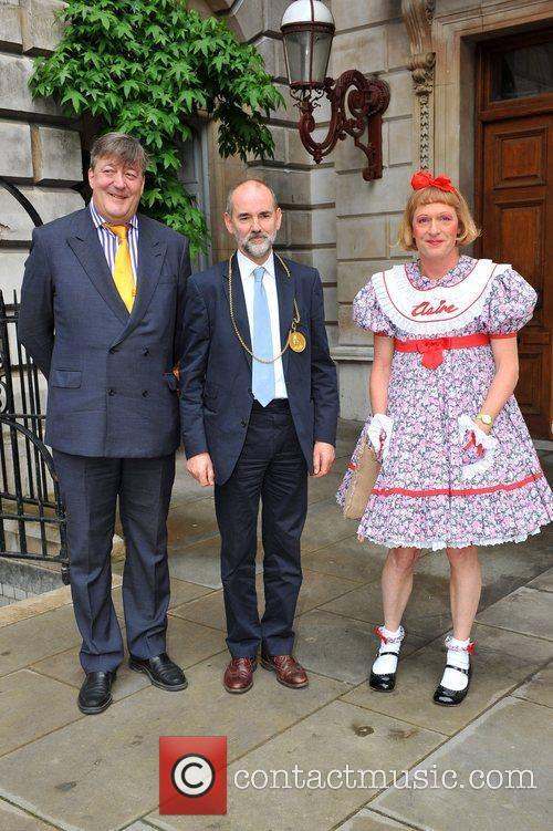 Stephen Fry, Grayson Perry and David Chipperfield The...
