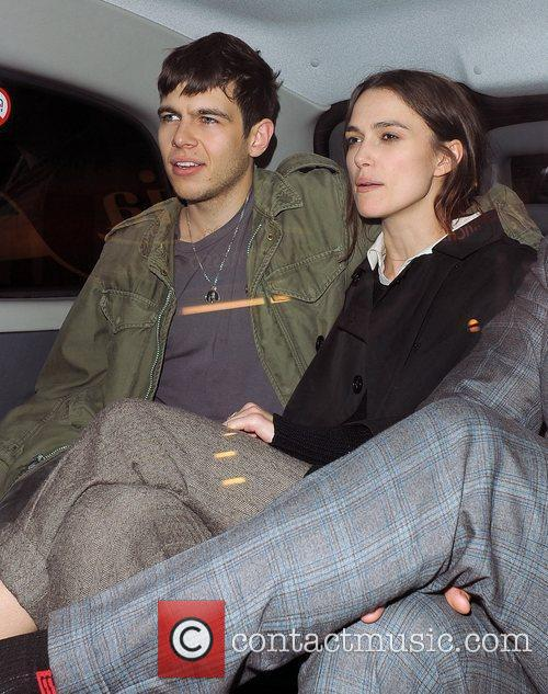 Keira Knightley and her boyfriend James Righton out...