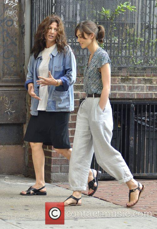 Keira Knightley and Catherine Keener 2